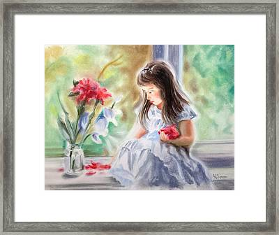 By The Window Framed Print by Harry Speese