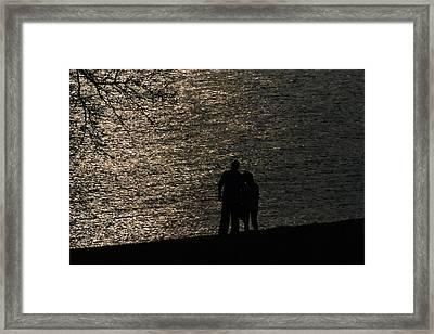 By Your Side Framed Print by Joe Scott