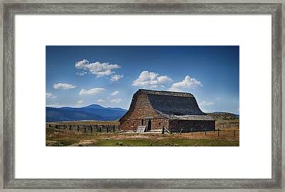 Bygone Days Barn Framed Print