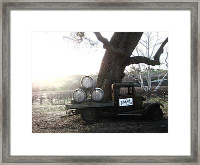 Framed Print featuring the photograph Bygone Era by Paul Foutz