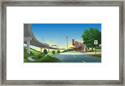 Bypassed Framed Print