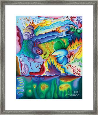 Byron Bird Orchestration Framed Print by Tiffany Davis-Rustam