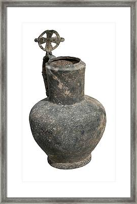 Byzantine Bronze Ewer Framed Print