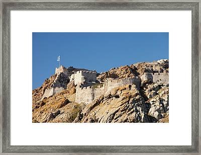 Byzantine Castle Framed Print by Ashley Cooper