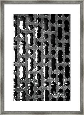 Byzantine Design Framed Print by John Rizzuto