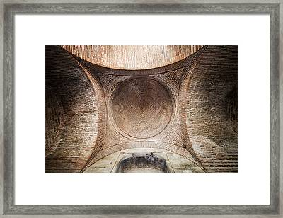 Byzantine Medieval Dome Ceiling Framed Print