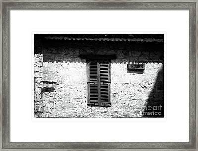 Byzantino Framed Print by John Rizzuto