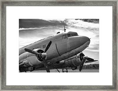 C-47 Skytrain Framed Print by Guy Whiteley
