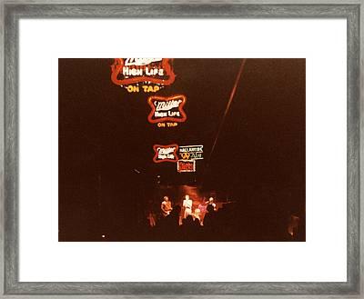 C B G B's '78 Framed Print by Del Gaizo