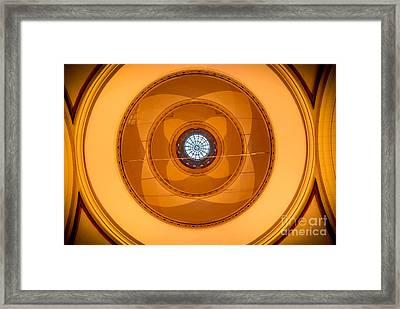 C I R C U M F E R E N C E Framed Print by Charles Dobbs