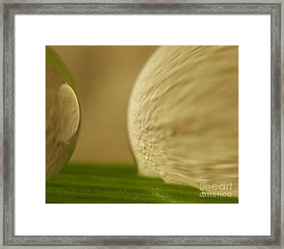 C Ribet Orbscape 0277 Framed Print by C Ribet