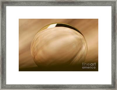 C Ribet Orbscape 1000 Framed Print by C Ribet