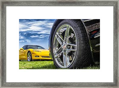 C Sixes Framed Print