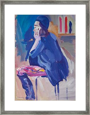 C05. The Boots Framed Print