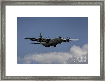 C130 Framed Print by J Biggadike