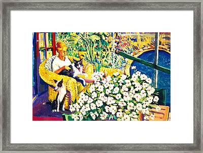 C16. Best Friends Framed Print