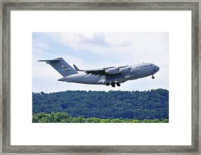 C17a Globemaster IIi Framed Print