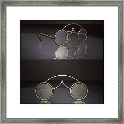 Spectacles  Framed Print
