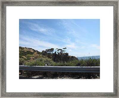 Ca Beach - 121210 Framed Print by DC Photographer