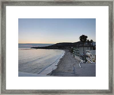 Ca Beach - 121223 Framed Print by DC Photographer