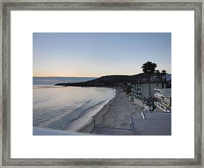 Ca Beach - 121226 Framed Print by DC Photographer