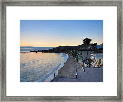 Ca Beach - 121229 Framed Print by DC Photographer