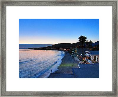 Ca Beach - 121238 Framed Print by DC Photographer