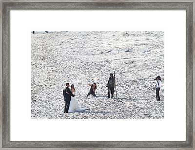 Ca Beach - 121253 Framed Print