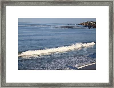 Ca Beach - 121274 Framed Print