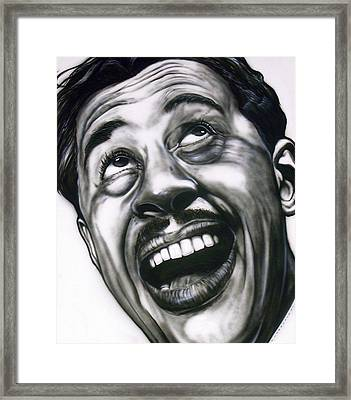 Cab Calloway Framed Print by Mike Underwood