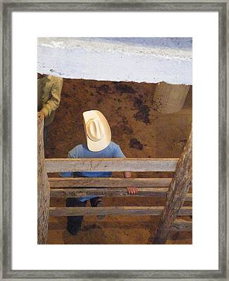 Framed Print featuring the photograph Caballero by Brian Boyle