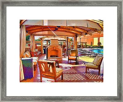Cabana Framed Print