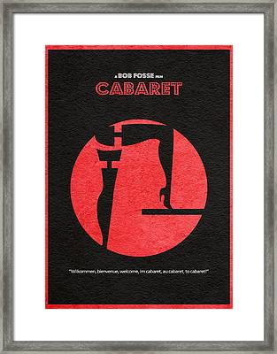 Cabaret Framed Print by Ayse Deniz