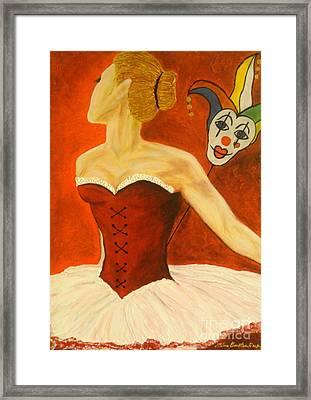Cabaret Ballerina Framed Print