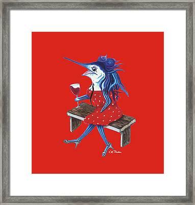 Cabernet Trixie Framed Print