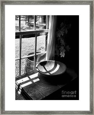 Cabin Crosses II Framed Print