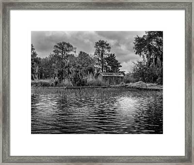 Cabin Framed Print by David Mcchesney