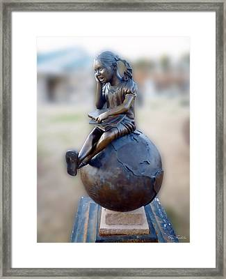 Framed Print featuring the photograph Cabin Fever Sculpture by Pete Trenholm