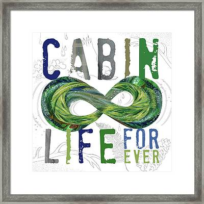 Cabin Life Framed Print by Longfellow Designs