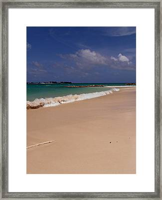 Cable Beach Bahamas Framed Print by Kimberly Perry