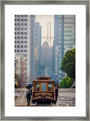 Cable Car Framed Print