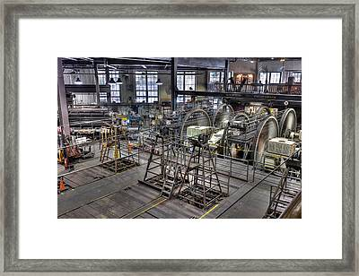 Cable Car Museum San Francisco Framed Print