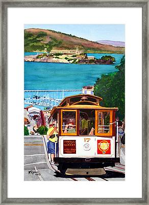 Cable Car No. 17 Framed Print by Mike Robles