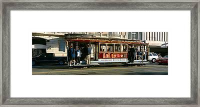 Cable Car, Nob Hill, San Francisco Framed Print