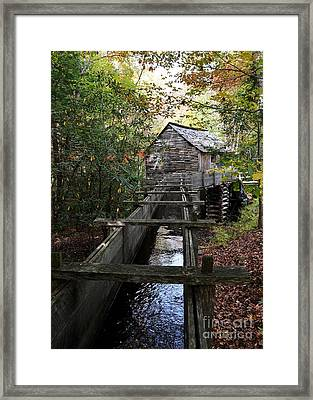 Cable Grist Mill 3 Framed Print by Mel Steinhauer