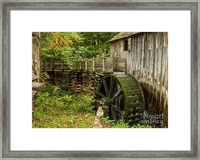 Cable Mill Cades Cove Framed Print