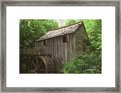 Cable Mill In Smoky Mtns Framed Print