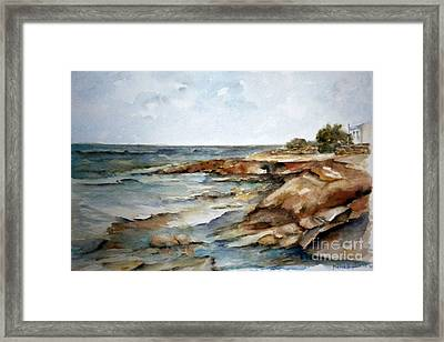 Cabo Polonio Framed Print