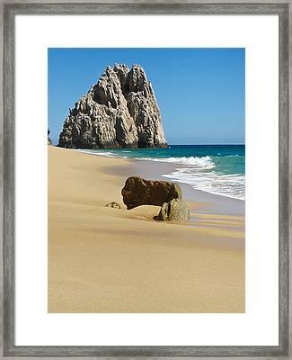 Cabo San Lucas Beach 2 Framed Print by Shane Kelly