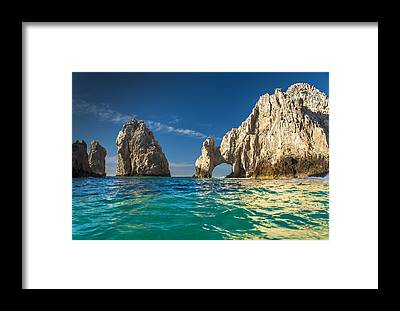 Cabo San Lucas Arch Framed Prints